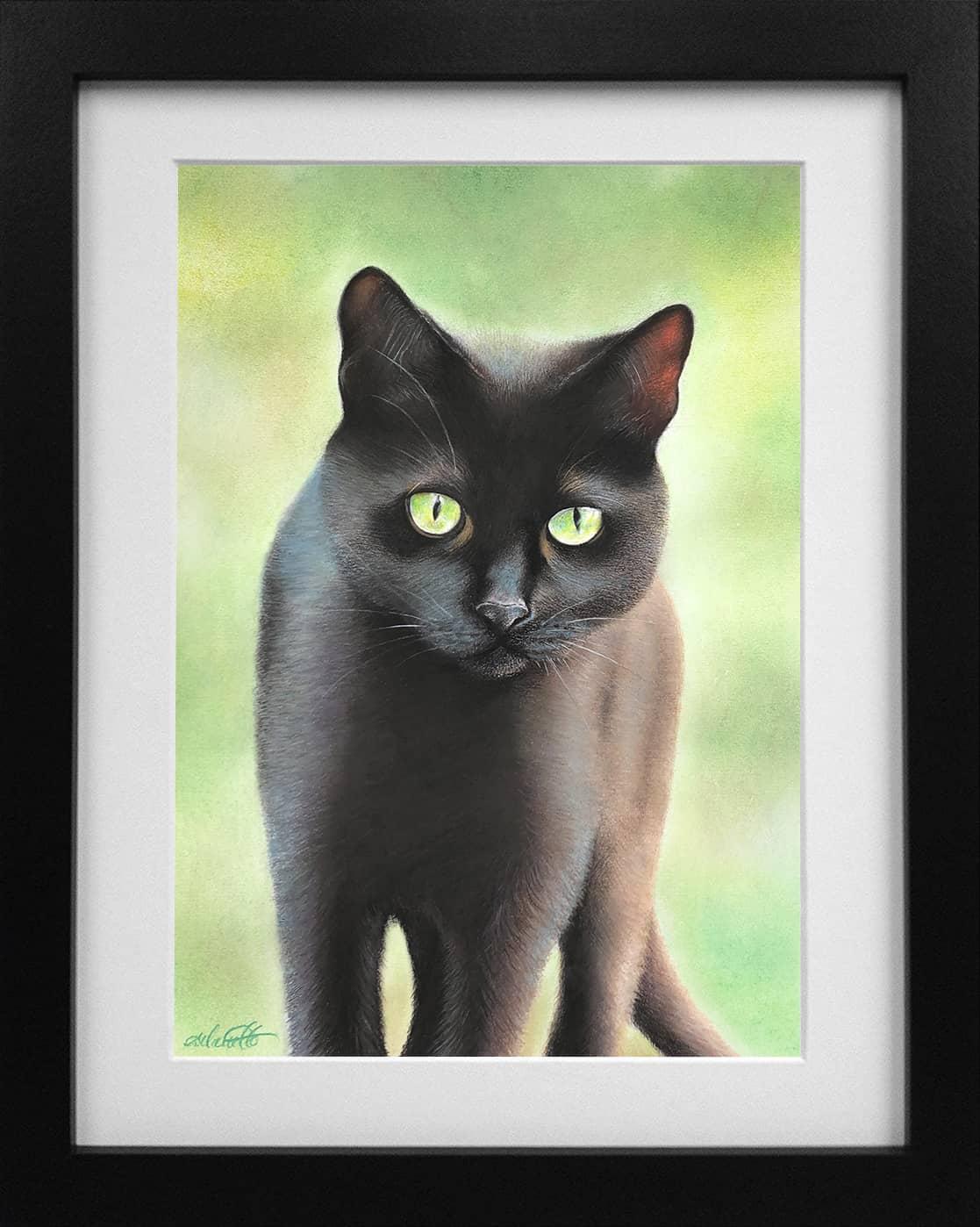 The Wanderer_cat_Framed
